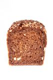 Dark brown bread - fron view Stock Photo