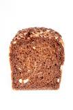 Dark brown bread - fron view Stock Photo