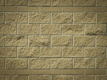 Dark brown brick paint wall background or texture Royalty Free Stock Image