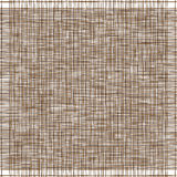 Dark brown canvas. Imitation of natural fabric. Vector Illustration Royalty Free Stock Photography