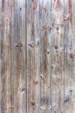 Dark brown color of natural wooden panel exterior wall backgroun Stock Photos
