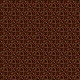 Dark Brown Colors Flower Pattern Design. Royalty Free Stock Photos