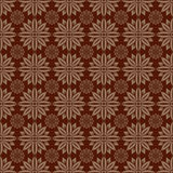 Dark Brown Colors Round grid Pattern. Royalty Free Stock Photography
