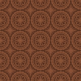 Dark Brown Colors Round grid Pattern. Royalty Free Stock Photos