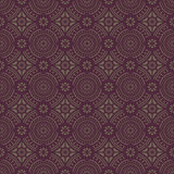Dark Brown Colors Round grid Pattern. Stock Photos