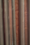 Dark brown curtain Royalty Free Stock Photos