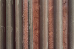 Dark brown curtain Royalty Free Stock Photography