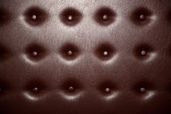 Dark brown leather pattern Royalty Free Stock Photography
