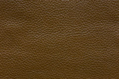 Dark brown leather texture, abstract background Stock Photo