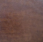 Dark brown leather texture closeup. Useful for background Royalty Free Stock Photos