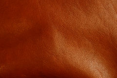 Dark brown leather texture Royalty Free Stock Photo