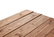 Dark Brown Paint Coated Wooden Boards Royalty Free Stock Photography