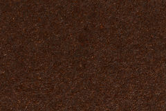 Dark brown paper box texture. Royalty Free Stock Images