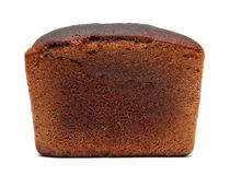 Dark brown rye bread Stock Images