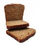 Dark brown rye sliced bread Royalty Free Stock Photo