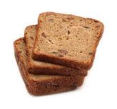 Dark brown rye sliced bread Royalty Free Stock Image