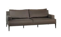 Dark brown Sofa Royalty Free Stock Photo