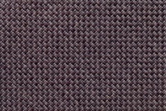 Dark brown textile background closeup. Structure of the fabric macro Stock Photos