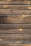 Dark brown texture, wooden plank Royalty Free Stock Photography