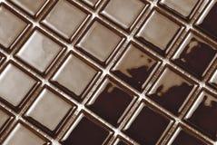 Dark brown tiles Stock Images