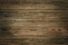 Dark brown vintage wooden background Royalty Free Stock Photos