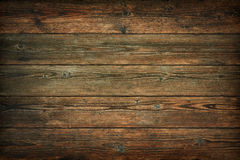 Dark brown vintage wooden background Royalty Free Stock Image