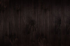 Dark brown vintage wooden board background. Wood texture. Stock Images