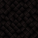 Dark brown weaved squares geometric seamless pattern, vector Royalty Free Stock Images