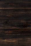 Dark brown wood background Royalty Free Stock Images