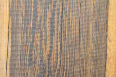 Dark brown wood background and texture Stock Photography