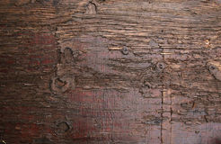 Dark brown plank Stock Photos