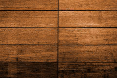 Dark  brown wood plank panel for wall Royalty Free Stock Photography