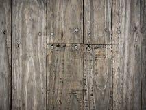 Dark brown wood plank Royalty Free Stock Photos