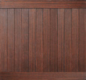 Dark brown wood plank texture as background Royalty Free Stock Image