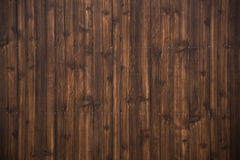 Dark brown wood plank texture background. Old grunge dark brown wood plank pattern with beautiful abstract surface, use for texture, background, backdrop or Royalty Free Stock Images