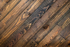 Dark brown wood texture background. Royalty Free Stock Photography