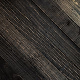 Dark brown wood texture background. Stock Photography