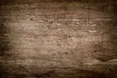 Rustic wood background with scratches royalty free stock photography