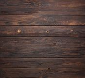 Dark brown wooden background with high resolution Royalty Free Stock Images