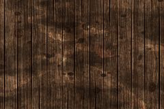 Dark brown wooden background. Vector stock photography