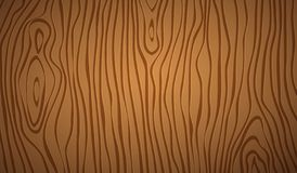 Dark brown wooden cutting, chopping board, table or floor surface. Wood texture. Vector illustration.  royalty free illustration