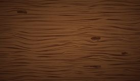 Dark brown wooden cutting, chopping board, table or floor surface. Wood texture. Vector illustration.  vector illustration