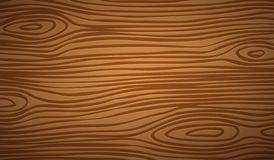 Dark brown wooden cutting, chopping board, table or floor surface. Wood texture. Vector illustration.  stock illustration