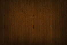 Dark brown wooden texture, wood grain background Stock Photos