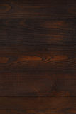 Dark brown wooden wall Royalty Free Stock Photos