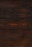 Dark brown wooden wall Royalty Free Stock Photos