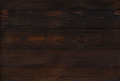 Dark brown wooden wall Stock Photo
