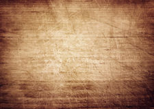 Dark brown wooden wall, table, floor surface. Aged board. Vector wood texture. Stock Photo