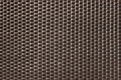 Dark brown woven texture background Royalty Free Stock Photos