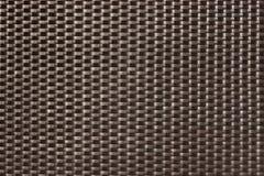 Dark brown woven texture background Royalty Free Stock Photos